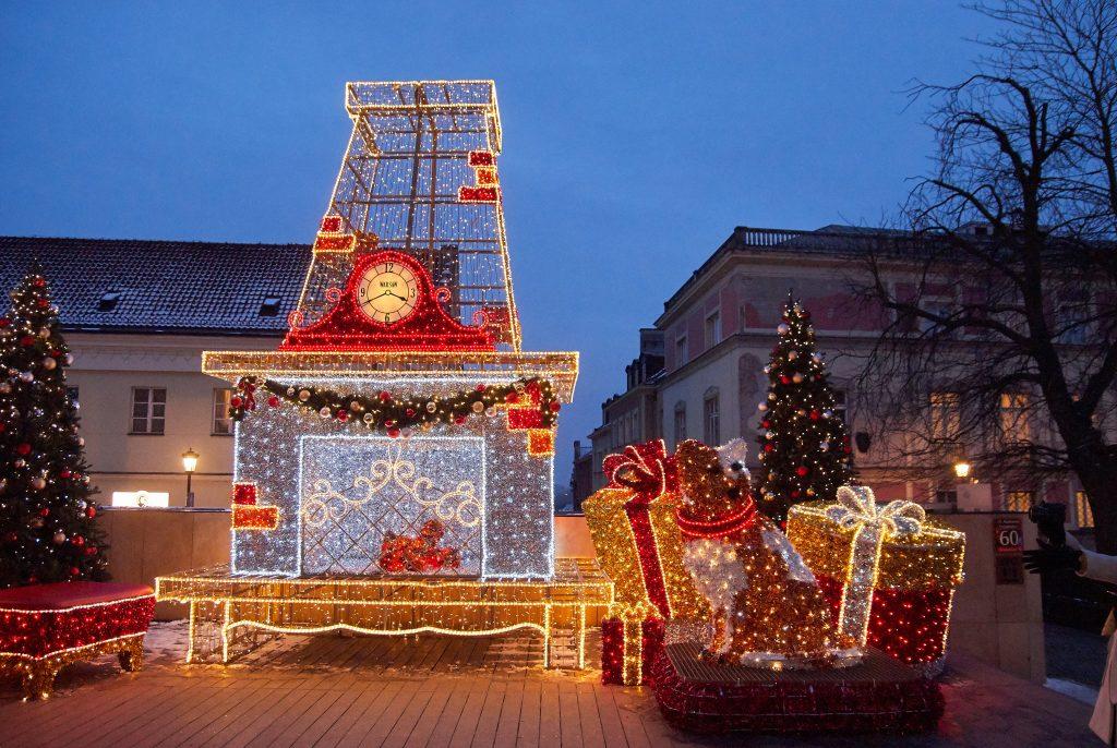 Târgul de Crăciun din Varșovia
