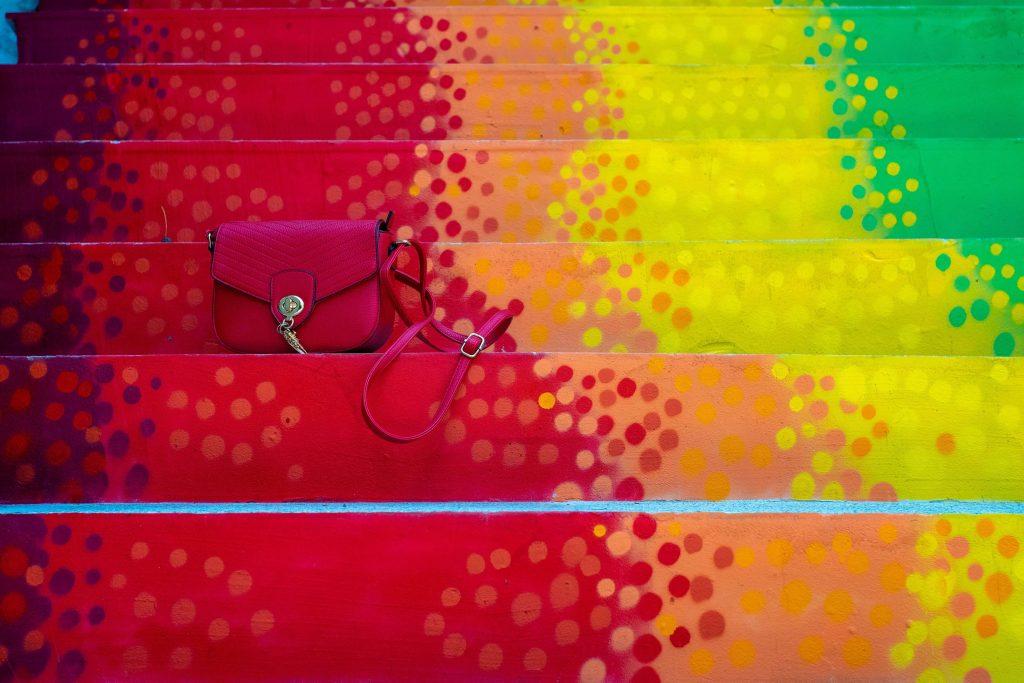 scări colorate